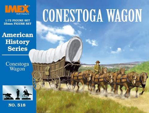 Imex 1/72nd Western Conestoga Wagon Plastic Set No. 518