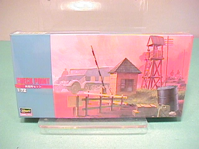 Hasegawa 1/72nd Scale Military Checkpoint Plastic Model Kit