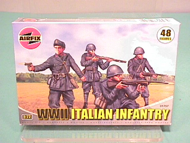 Airfix 1/72nd Scale WWII Italian Infantry Plastic Soldiers Set