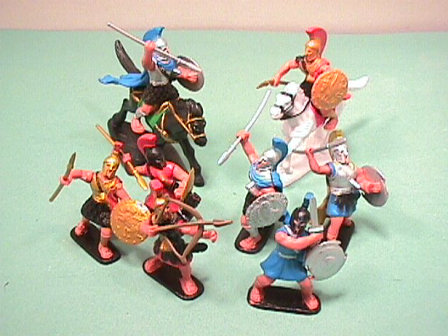 Ancient Alexander The Great Plastic Warriors Set #26