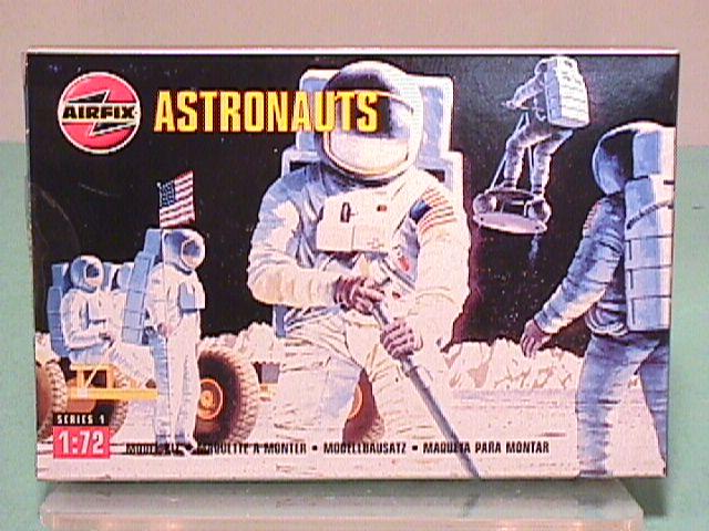 Airfix 1/72nd Scale Modern Astronauts Plastic Figures Set