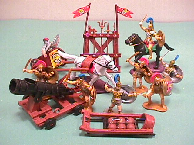 Ancient Style Plastic Chariots Set No. 43