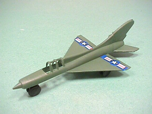 Modern Airforce US Airforce Plastic Jet Fighter Set Of 4