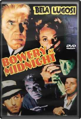 Bowery at Midnight DVD