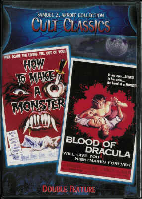 Thumbnail of How to Make a Monster / Blood of Dracula - Cult Classics DVD New Sealed