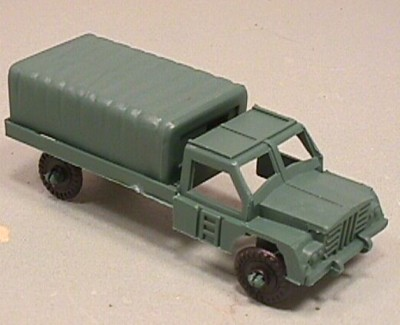 Green Plastic Army Troop Truck