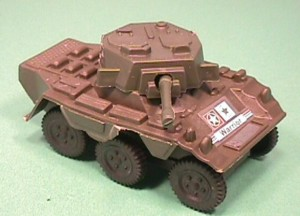Army Warrior Plastic Modern Style Armored Car