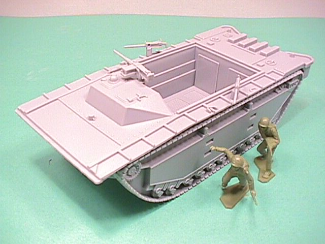 BMC Marines Plastic Amtrac Beach Landing Vehicle