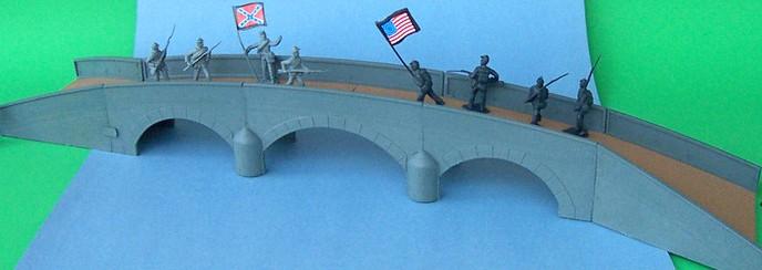 American Civil War Plastic Burnside Bridge