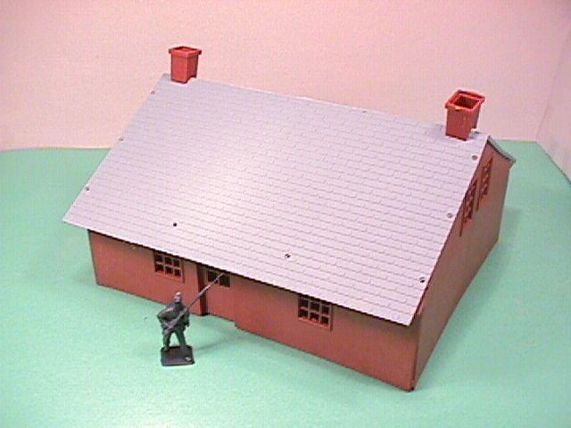 American Civil War BMC Brown Plastic Headquarters Building