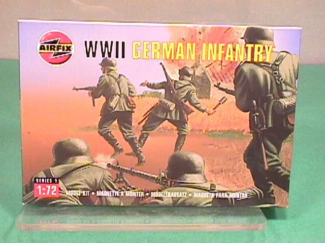 Airfix 1/72nd Scale WWII German Infantry Plastic Soldiers Set