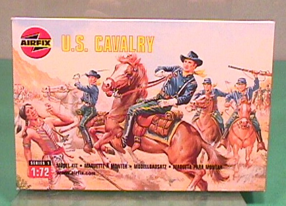 Airfix 1/72nd Scale Western U.S. Cavalry Plastic Soldiers Set