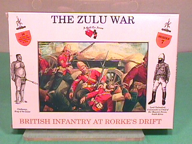 A Call To Arms 1/32nd ZULU WAR British At Rorke's Drift Boxed Set