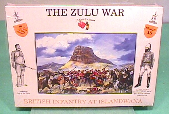 A Call To Arms 1/32nd ZULU WAR British Islandwana Boxed Figures Set 15