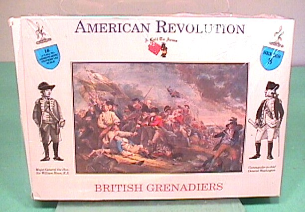 A Call To Arms 1/32nd American Revolution British Grenadiers Boxed Set 8