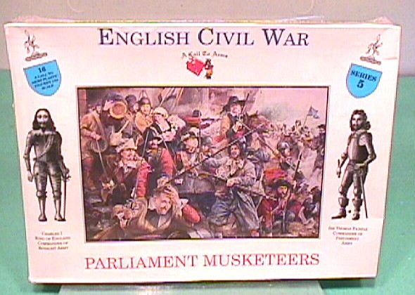 A Call To Arms 1/32nd English Civil War Figures Boxed Set