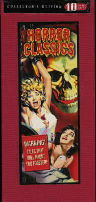 Thumbnail of Horror Classics Collector's Edition 10-DVD set New Sealed