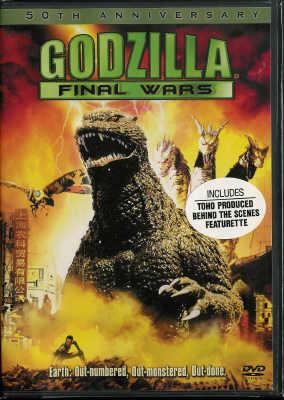 Thumbnail of Godzilla Final Wars 50th Anniversary DVD New Sealed