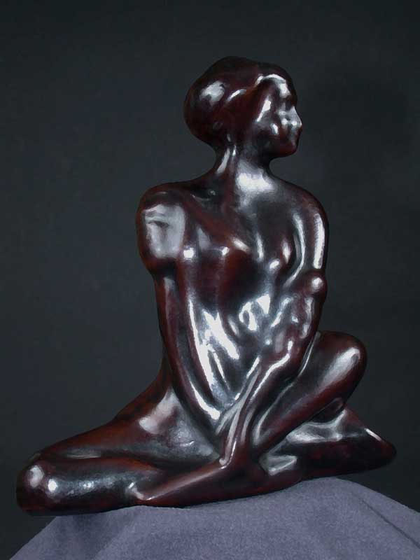 Image 0 of Female Abstract Art Deco Sculpture 563