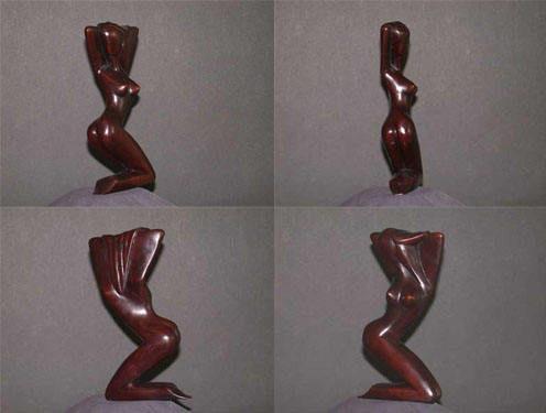Image 0 of Angular Abstract Sculpture Resin