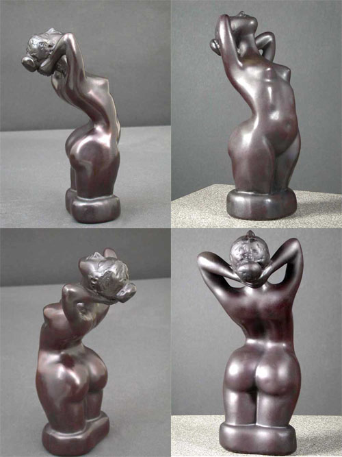 Perfect Behind Female Sculpture Resin