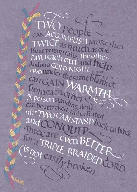 Ecclesiastes 4 9 12 340