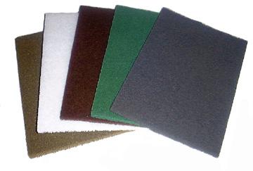 9'' x 6'' Hand Pad - Non-Abrasive (White)