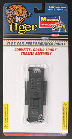 Monogram #5124 Corvette Grand Sport Chassis Assembly