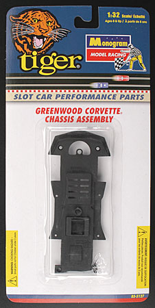 Monogram #5127 Greenwood Corvette Chassis Assembly