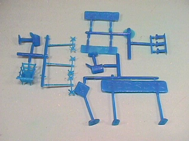 Marx Re-Issue Flintstones Plastic Accessories Set