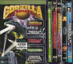 Thumbnail of Godzilla 50th Anniversary 5-DVD Collection includes rare Mechagodzilla OOP