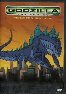 Thumbnail of Godzilla the Series: Monster Mayhem DVD New Sealed