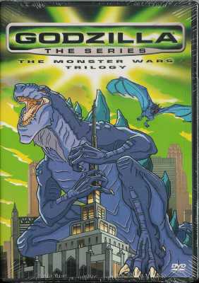 Thumbnail of Godzilla the Series: The Monster Wars Trilogy DVD New Sealed