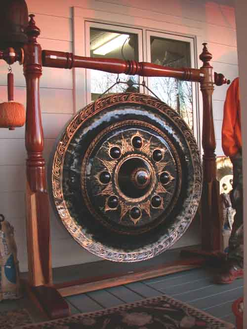 Image 0 of Authentic Buddhist Bronze Temple Gong 31