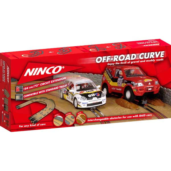 Image 0 of Ninco #10505 Off Road Curve Extension Kit
