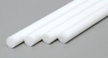 Evergreen 1/8 Styrene Rod (4) 214