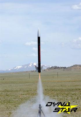 Image 2 of DynaStar Grappler Mid Power Rocket Kit