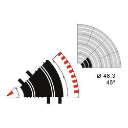 Ninco 10205 R1 (45 degree) Inner Border (6)