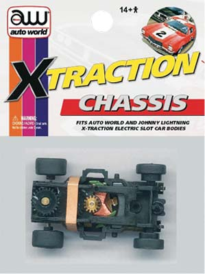 Auto World #181B X-Traction Ultra-G Chassis