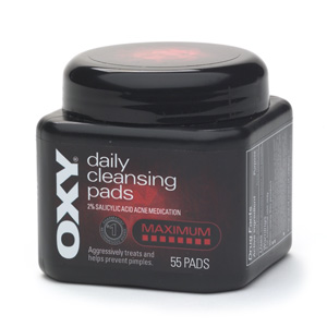 Oxy Daily Cleansing Maximum Pads 55 Ct