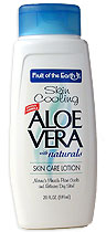Aloe Vera Lotion Fruit Of The Earth 16 Oz