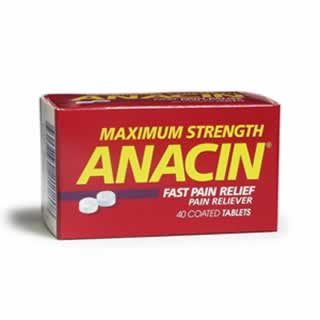 Image 0 of Anacin Maximum Strength Tab 40