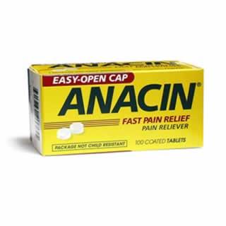Image 0 of Anacin Fast Pain Relief Tab 100