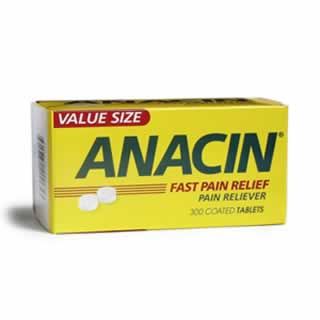 Image 0 of Anacin Fast Pain Relief Tab 300