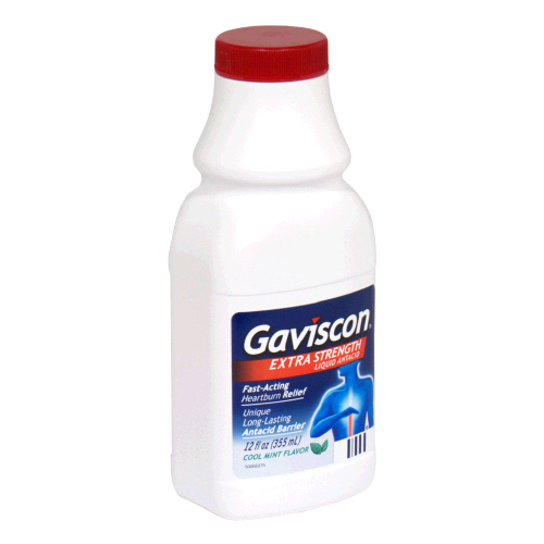 how to give gaviscon to breastfed baby