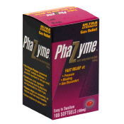 Phazyme Ultra Strength Gas Relief 180 mg Easy To Swallow Softgels 100