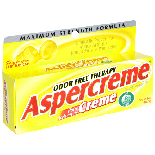 Image 0 of Aspercreme Maximum Strength Odor Free Therapy With Aloe Cream 5 oz