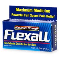 Flexall 454 Maximum Strength Pain Relieving Gel 3 oz