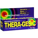 Thera-Gesic Maximum Strength Pain Relieving Cream 5 Oz