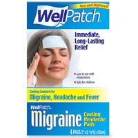 Wellpatch Migraine Cooling Headache Pads 4